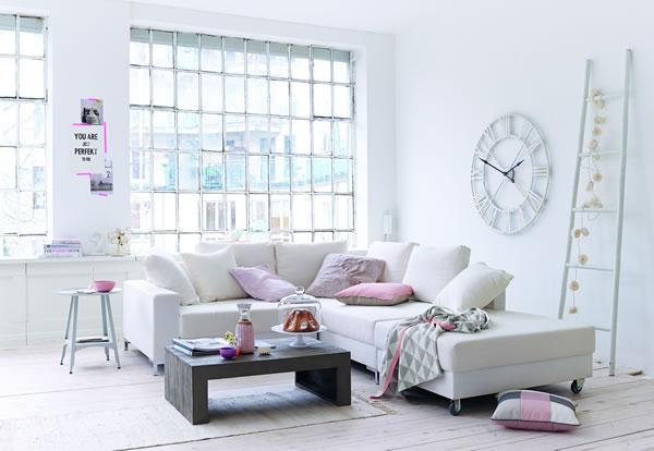 De.pumpink.com | Wohnzimmer Grau Pink